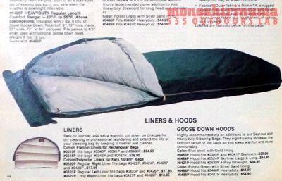 モノシリ沼 555nat.com monoshirinuma 1970-1980s アウトドア温故知新 Made in USA Eddie Bauer HEAVYDUTY SLEEPING BAG(3)