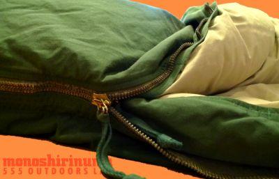 モノシリ沼 555nat.com monoshirinuma 1970-1980s アウトドア温故知新 Made in USA Eddie Bauer HEAVYDUTY SLEEPING BAG(5)