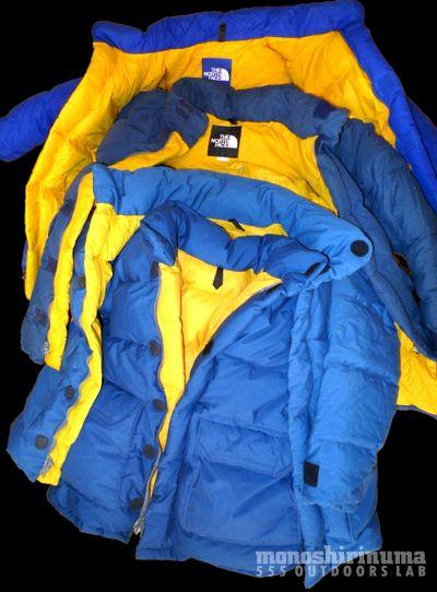モノシリ沼 555nat.com monoshirinuma 1970-1980s アウトドア温故知新 Made in USA 極地用ダウンジャケット The North Face Brooks Rangeの変遷(21)