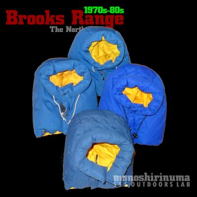 モノシリ沼 555nat.com monoshirinuma 1970-1980s アウトドア温故知新 Made in USA 極地用ダウンジャケット The North Face Brooks Rangeの変遷 フード