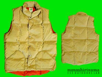 モノシリ沼 555nat.com monoshirinuma 1970-1980s アウトドア温故知新 Made in USA シェラデザイン ダウンベスト 1970s Sierra designs 60/40 Down Vest(2)