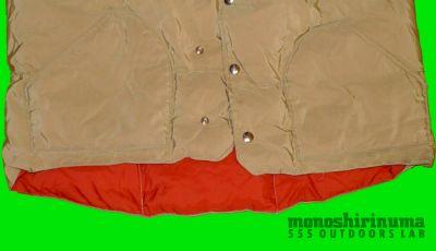 モノシリ沼 555nat.com monoshirinuma 1970-1980s アウトドア温故知新 Made in USA シェラデザイン ダウンベスト 1970s Sierra designs 60/40 Down Vest(3)