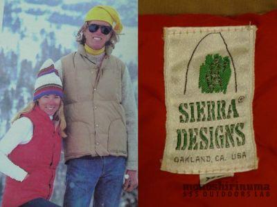 モノシリ沼 555nat.com monoshirinuma 1970-1980s アウトドア温故知新 Made in USA シェラデザイン ダウンベスト 1970s Sierra designs 60/40 Down Vest(4)