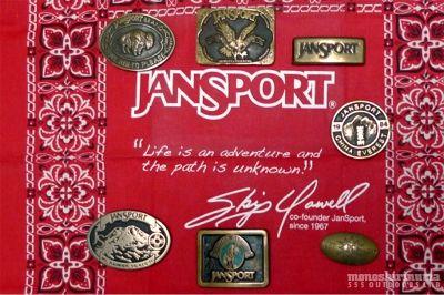 モノシリ沼 555nat.com monoshirinuma 1970-1980s アウトドア温故知新 Made in USA ジャンスポーツ バックル Jansport Buckle(1)
