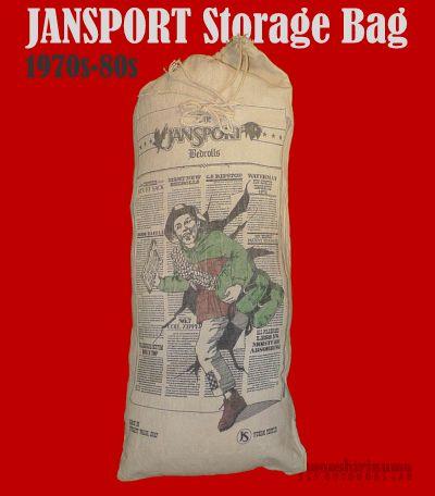 モノシリ沼 555nat.com monoshirinuma 1970-1980s アウトドア温故知新 Made in USA Jansport Storage Bag ジャンスポーツ・ストレージバッグ(1)
