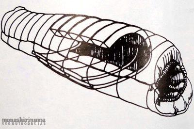 モノシリ沼 555nat.com monoshirinuma 1970-1980s アウトドア温故知新 Made in USA JANSPORT Sleeping Bag Brass Beds 1.2.3 ジャンスポーツ ブラスベッド(5)