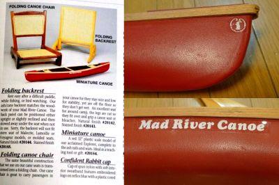 モノシリ沼 555nat.com monoshirinuma 1970-1980s アウトドア温故知新 Made in USA MAIL ORDER でカヌー購入 Mad River Explorer(6)