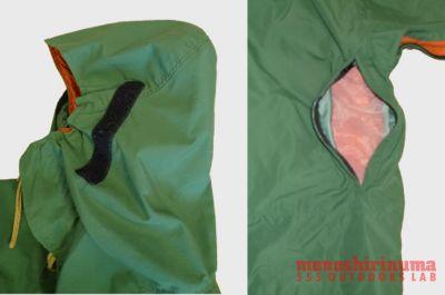 モノシリ沼 555nat.com monoshirinuma 1970-1980s アウトドア温故知新 Made in U.S.A. SYNERGY WORKS 完成されたデザイン DAMN PARKA の秘密(8)