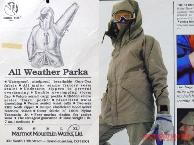 モノシリ沼 555nat.com monoshirinuma 1970-1980s アウトドア温故知新 Made in U.S.A. Marmot Mountain Works 名品All Weather ParkaにはALL WEATHER PANTS(4)