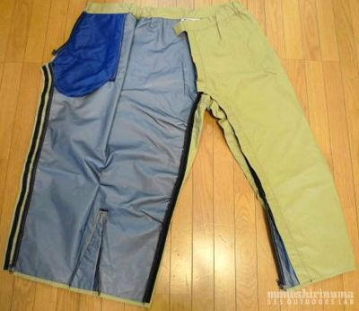 モノシリ沼 555nat.com monoshirinuma 1970-1980s アウトドア温故知新 Made in U.S.A. Marmot Mountain Works 名品All Weather ParkaにはALL WEATHER PANTS(8-2)