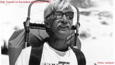 モノシリ沼 555nat.com monoshirinuma 1970-1980s アウトドア温故知新 Made in U.S.A. Skip Yowell co-founded JanSport in 1967. Photo: JanSport