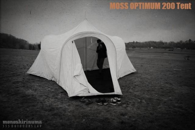 moss optimum 200 tent モノシリ沼 555nat.com 温故知新
