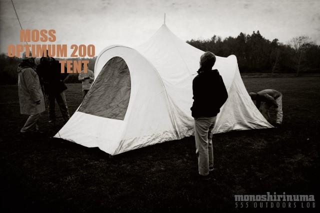 moss optimum 200 tent team Marilyn モノシリ沼 555nat.com 温故知新