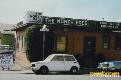 聖地バークレー1984 THE NORTH FACE 創業地 モノシリ沼 555nat.com 温故知新