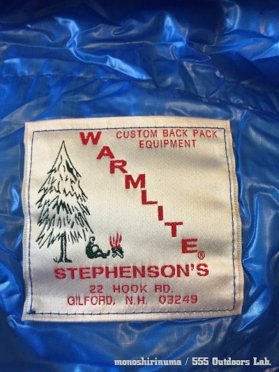 極上の寝心地 STEPHENSON'S WARMLITE Sleeping Bag Triple Down Filled Sleeping Bag (10) モノシリ沼 555nat.com 温故知新