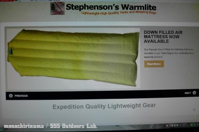 極上の寝心地 STEPHENSON'S WARMLITE Sleeping Bag Triple Down Filled Sleeping Bag (31) モノシリ沼 555nat.com 温故知新