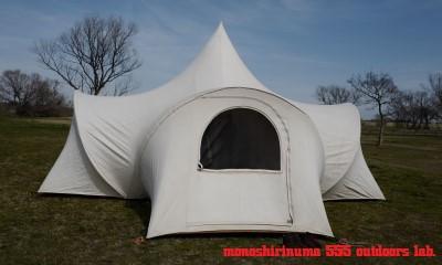 moss 1970s optimum350 tent 設営(8) team marilyn モノシリ沼 555nat.com 温故知新