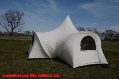 moss 1970s optimum350 tent 設営(9) team marilyn モノシリ沼 555nat.com 温故知新