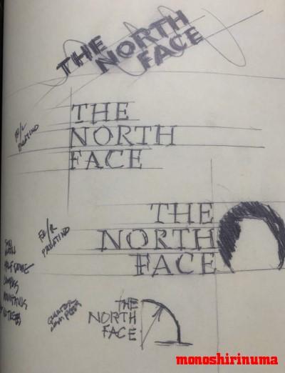 ノースフェイス ロゴの由来を考察 THE NORTH FACE モノシリ沼 555nat.com 温故知新 ロゴデザイン(15)