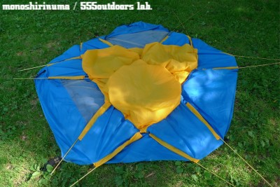 ウィルダーネス・エクスペリエンス テント 日本製 Multi Equinox Dome Tent モノシリ沼 555nat.com WILDERNESS EXPERIENCE MULTI-EQUINOX (7)