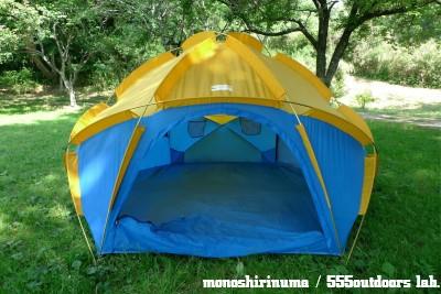 ウィルダーネス・エクスペリエンス テント 日本製 Multi Equinox Dome Tent モノシリ沼 555nat.com WILDERNESS EXPERIENCE MULTI-EQUINOX (8)