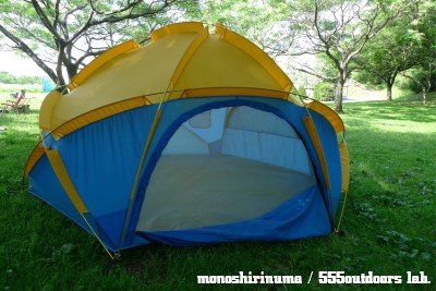ウィルダーネス・エクスペリエンス テント 日本製 Multi Equinox Dome Tent モノシリ沼 555nat.com WILDERNESS EXPERIENCE MULTI-EQUINOX (9)