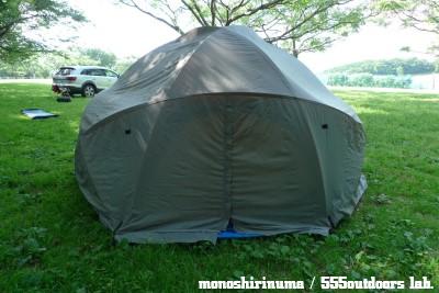 ウィルダーネス・エクスペリエンス テント 日本製 Multi Equinox Dome Tent モノシリ沼 555nat.com WILDERNESS EXPERIENCE MULTI-EQUINOX (17)