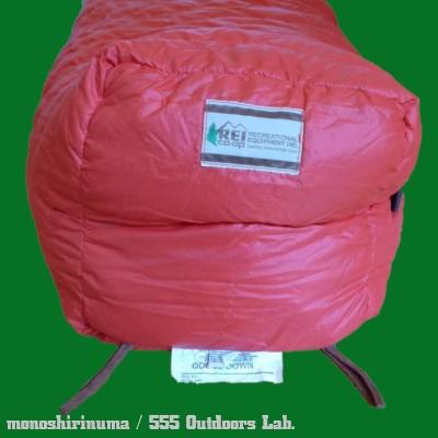 スリーピングバッグ モノシリ沼 555nat.com 温故知新 REI DENARI EXPEDITION SLEEING BAG -06b