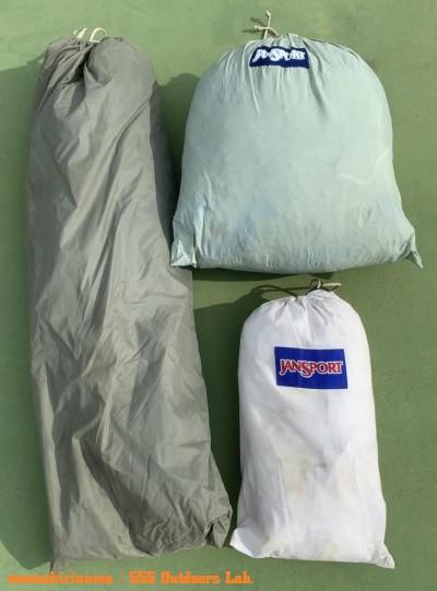 ジャンスポーツ・ドームテント モノシリ沼 555nat.com 温故知新 JanSport ドームテントの名品 Mountain Dome (2 or 3persons) 04