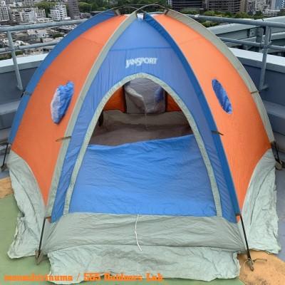 ジャンスポーツ・ドームテント モノシリ沼 555nat.com 温故知新 JanSport ドームテントの名品 Mountain Dome (2 or 3persons) 12