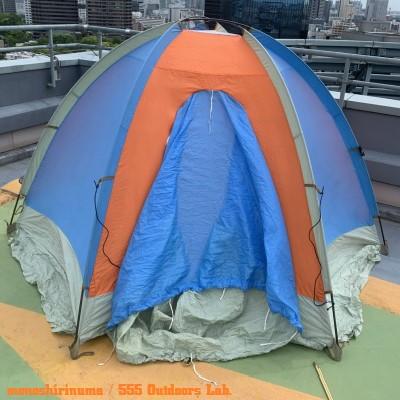 ジャンスポーツ・ドームテント モノシリ沼 555nat.com 温故知新 JanSport ドームテントの名品 Mountain Dome (2 or 3persons) 16