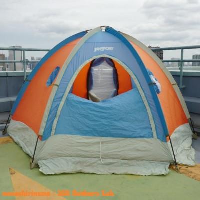 ジャンスポーツ・ドームテント モノシリ沼 555nat.com 温故知新 JanSport ドームテントの名品 Mountain Dome (2 or 3persons) 23