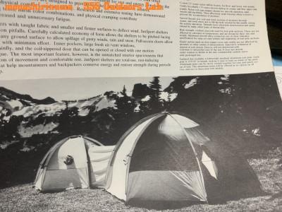 ジャンスポーツ・ドームテント モノシリ沼 555nat.com 温故知新 JanSport ドームテントの名品 Mountain Dome (2 or 3persons) 26