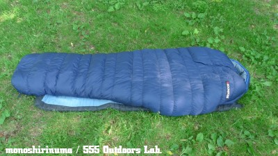 ムーンストーン・スリーピングバッグ モノシリ沼 555nat.com 温故知新 MOONSTONE_SLEEPING BAG_LibertyRidge 10