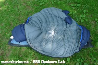 ムーンストーン・スリーピングバッグ モノシリ沼 555nat.com 温故知新 MOONSTONE_SLEEPING BAG_LibertyRidge 15