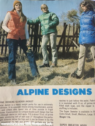Alpine Designs Day Pack 1970s モノシリ沼 555nat.com 温故知新 名門アルパインデザインのアタックザック 27 Sierra Designs Day Tripper 32