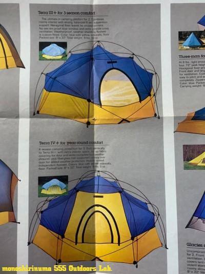 SIERRA DESIGNS TERRA� 1970s モノシリ沼 555nat.com 温故知新 シエラデザイン初のジオデシックテント 07