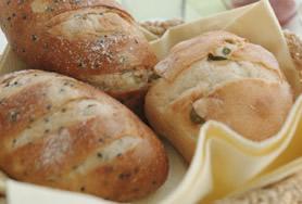 天然酵母のおいしいパン