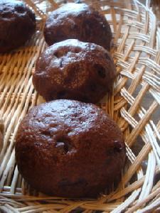 ゆずチョコココア蒸しパン