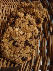 蕎麦の実のくるみぶどうクッキー