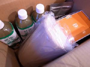 小食サポートセンターさくらから届いた荷物