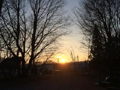 2014.1.18の夕日
