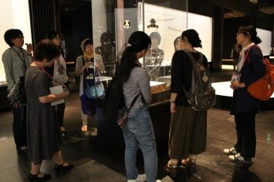 女子考古部 文化交流展