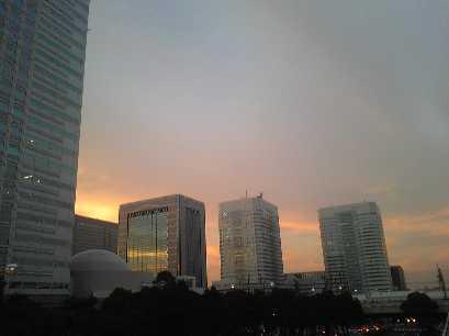 千葉の夕方