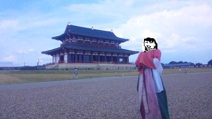 平城の風にふかれて(笑)