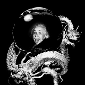 einstein-dragon