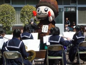 松陽中学吹奏学部 スプリングチャリティーコンサート1