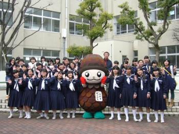 松陽中学吹奏学部 スプリングチャリティーコンサート2