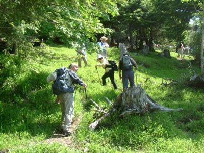 尾高山ミニ登山コース2
