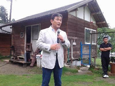 政治家・田辺久人氏